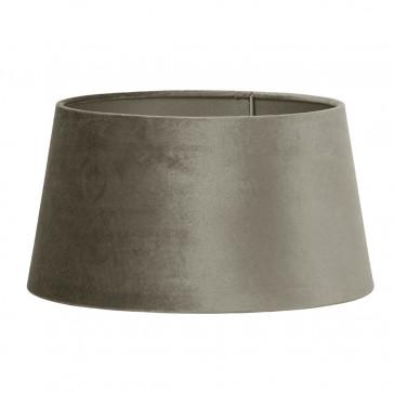 Zinc Round Lampshade - Taupe