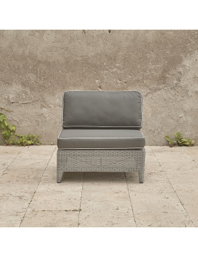 Oceane mid section. French grey rattan pictured on Southern French terrace.