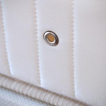 Close up image of mattress